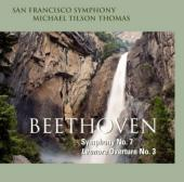 Album artwork for Beethoven: Symphony No. 7, Leonore / Tilson Thomas