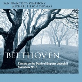 Album artwork for Beethoven: Death of JosephII, Symphony 2 / Tilson