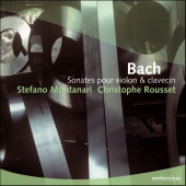 Album artwork for Bach: Sonates for violon & clavecin / Montanari