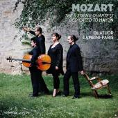 Album artwork for Mozart: The 6 String Quartets Dedicated to Haydn