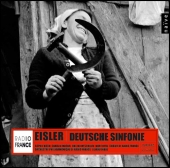 Album artwork for EISLER : DEUTSCHE SINFONIE