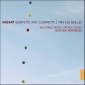Album artwork for QUINTETTE AVEC CLARINETTE / TRIO LES QUILLES