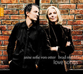 Album artwork for Anne Sofie von Otter, Brad Mehldau: Love Songs