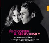 Album artwork for Prokofiev, Stravinsky: Violin Concertos / Kopatchi