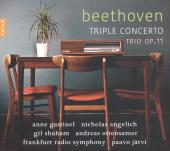 Album artwork for Beethoven: Triple Concerto, Trio Op.11