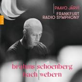 Album artwork for BRAHMS/SCHOENBERG, BACH/WEBERN / Jaarvi