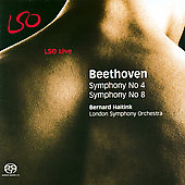 Album artwork for Beethoven: Symphonies no 4 & 8 / Haitink