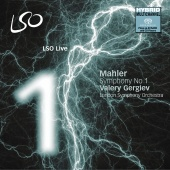 Album artwork for Mahler: Symphony No. 1 / Gergiev