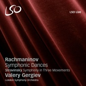 Album artwork for Rachmaninov: Symphonic Dances / Gergiev