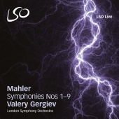Album artwork for Mahler: Symphonies Nos.1-9