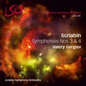 Album artwork for Scriabin: Symphonies Nos. 3 & 4
