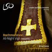 Album artwork for Rachmaninov: All-night Vigil,