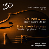 Album artwork for Schubert: Death and the Maiden - Shostakovich: Cha