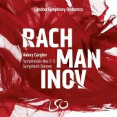Album artwork for Rachmaninov: Symphonies 1 - 3 + Symphonic Dances