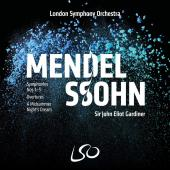 Album artwork for Mendelssohn: Symphonies, Overtures, etc / Gardiner