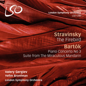 Album artwork for Stravinsky: The Firebird - Bartok: The Miraculous