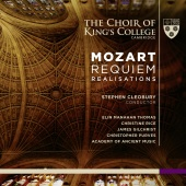 Album artwork for Mozart: Requiem with Realizations / King's Colleg