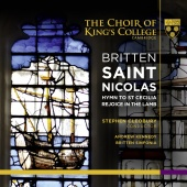 Album artwork for BRITTEN. Saint Nicolas. King's College/Cleobury (