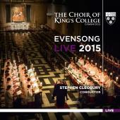 Album artwork for Evensong Live 2015 - Choir of King's College