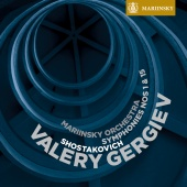 Album artwork for Shostakovich: Symphonies nos. 1 & 15 (Gergiev)