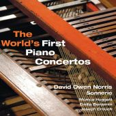 Album artwork for THE WORLD'S FIRST PIANO CONCERTOS