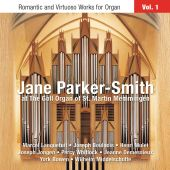 Album artwork for Jane Parker-Smith: Romantic and Virtuoso Organ