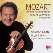 Album artwork for FIVE VIOLIN CONCERTOS
