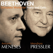 Album artwork for Beethoven: Complete Works for Piano and Cello (Men