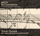 Album artwork for Bach: Brandenburg Concertos / Pinnock