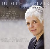 Album artwork for Judith Leclair: Works for Bassoon