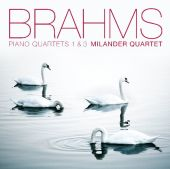Album artwork for Brahms: Piano Quartets / Milander Quartet