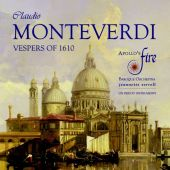 Album artwork for MONTEVERDI: VESPERS 1610
