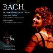 Album artwork for Bach: Brandenburg Concertos / Apollo's Fire