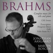 Album artwork for Brahms: Complete Musuic for Cello and Piano / Aasg