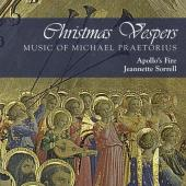 Album artwork for Christmas Vespers - Music of Praetorius / Sorrell