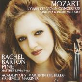 Album artwork for Mozart: Violin Concertos (Rachel Barton Pine)