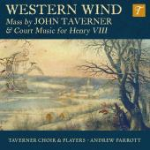 Album artwork for Taverner: Western Wind Mass & Court Music