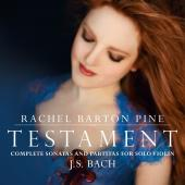 Album artwork for Testament - Bach Sonatas & Partitas / Barton Pine