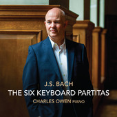 Album artwork for Bach: The Six Keyboard Partitas