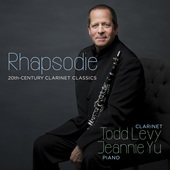 Album artwork for Rhapsodie - 20th-Century Clarinet Classics