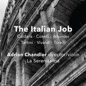 Album artwork for The Italian Job: Baroque Instrumental Music from t