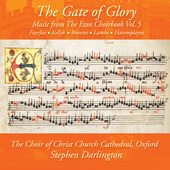 Album artwork for Music from The Eton Choirbook, Vol. 5: The Gate of