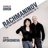 Album artwork for Rachmaninov: The Two-Piano Suites & 6 Morceaux