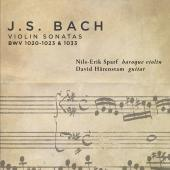 Album artwork for BACH: VIOLIN SONATAS
