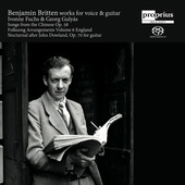 Album artwork for Britten: Songs from the Chinese - Folk Song Arrang