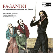 Album artwork for Paganini: The Complete Works for Violin/Viola, Cel