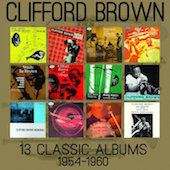 Album artwork for Clifford Brown - 13 Classic Albums 1954-1960
