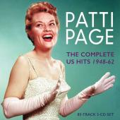 Album artwork for Patti Page: The Complete US hits 1948-62