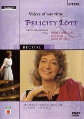 Album artwork for VOICES OF OUR TIME - FELICITY LOTT