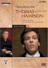 Album artwork for VOICES OF OUR TIME - THOMAS HAMPSON